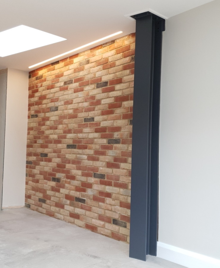 Feature Wall for Kitchen Refurbishment in South Norwood London SE25