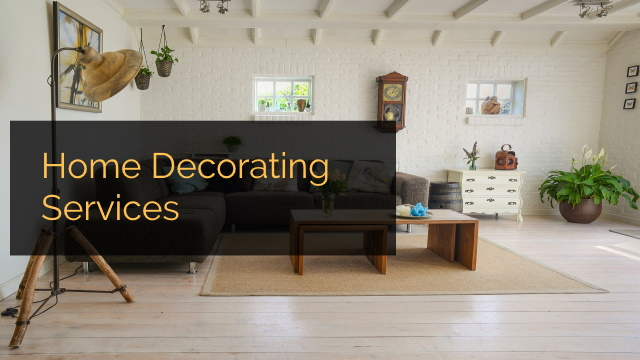 Home Decorating Services