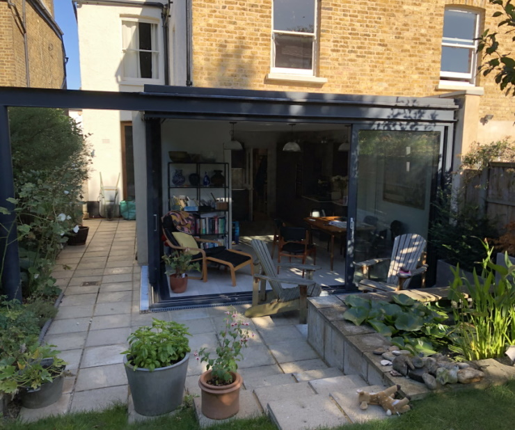 Rear Extension for House in West Norwood London SE27