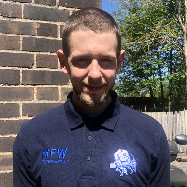 Spencer Weatherill - Assistant trained in all aspects of the Building Trade