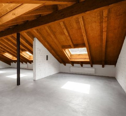 Timber Roof Installation in Forest Hill Loft