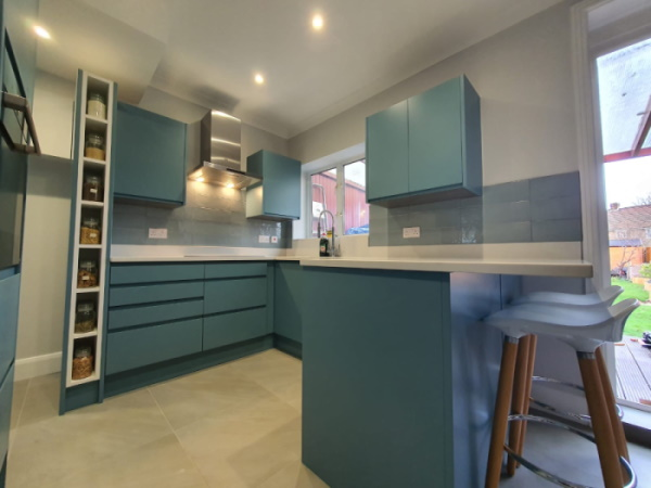 Kitchen Refurbishment in Catford London SE6